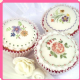 Floral Cupcake Topper Moulds